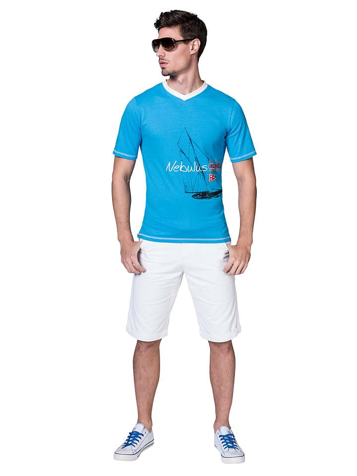 Nebulus Shirt Ahoi in Blau