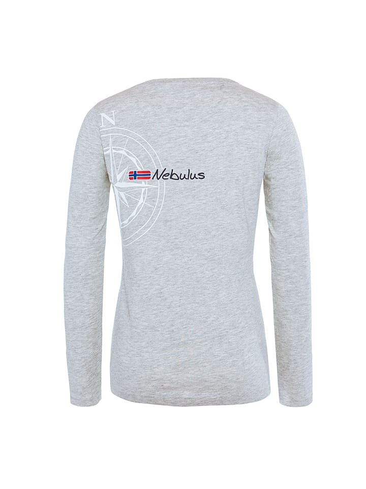 "Nebulus Longsleeve ""Virginia"" in Grau"