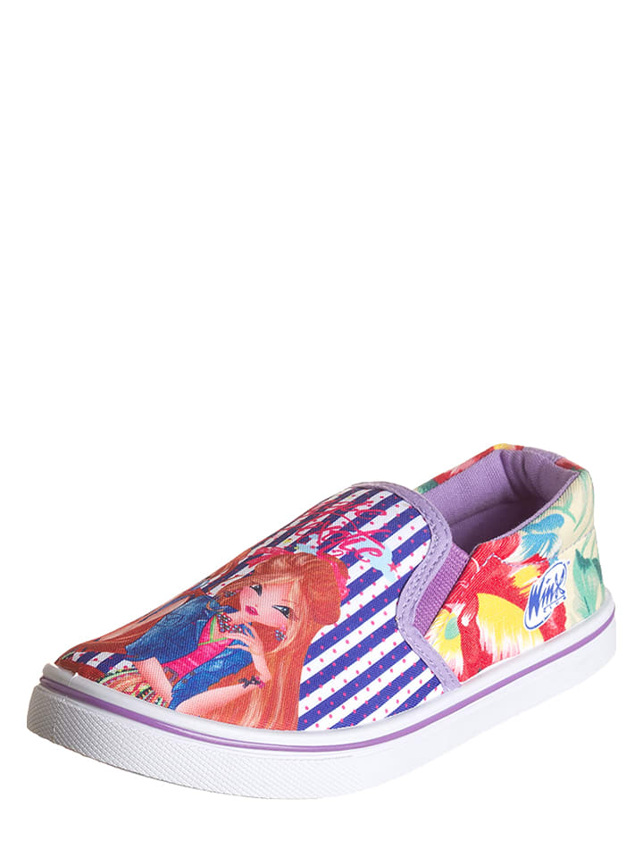 Disney Slipper in Lila/ Bunt