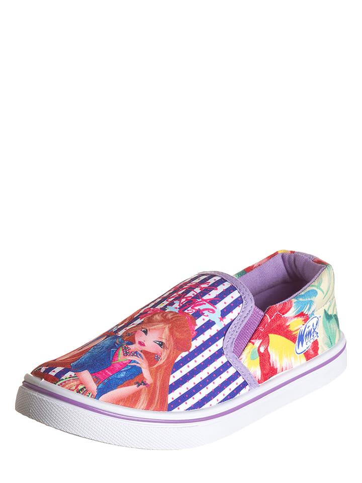 Disney Slippersy w kolorze fioletowym ze wzorem