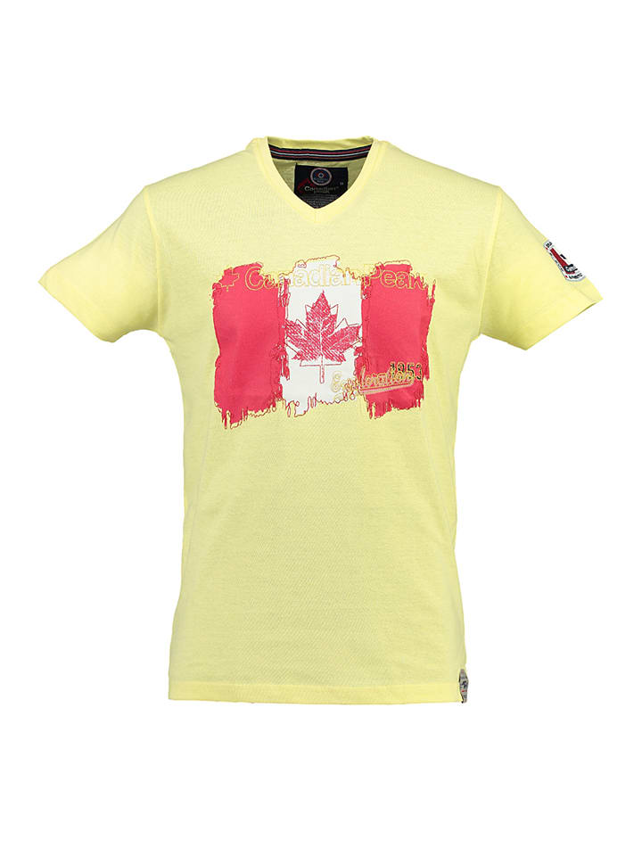 "Canadian Peak Shirt ""Jerable"" in Gelb"