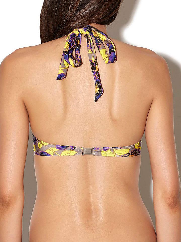 Aubade Bikini-Oberteil in Taupe/ Lila