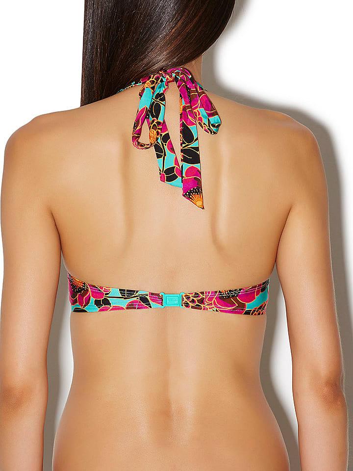 Aubade Bikini-Oberteil in Pink/ Bunt