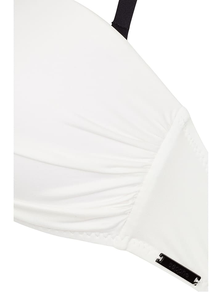 "Sapph Bikini-Oberteil ""St. Barth"" in Weiß"