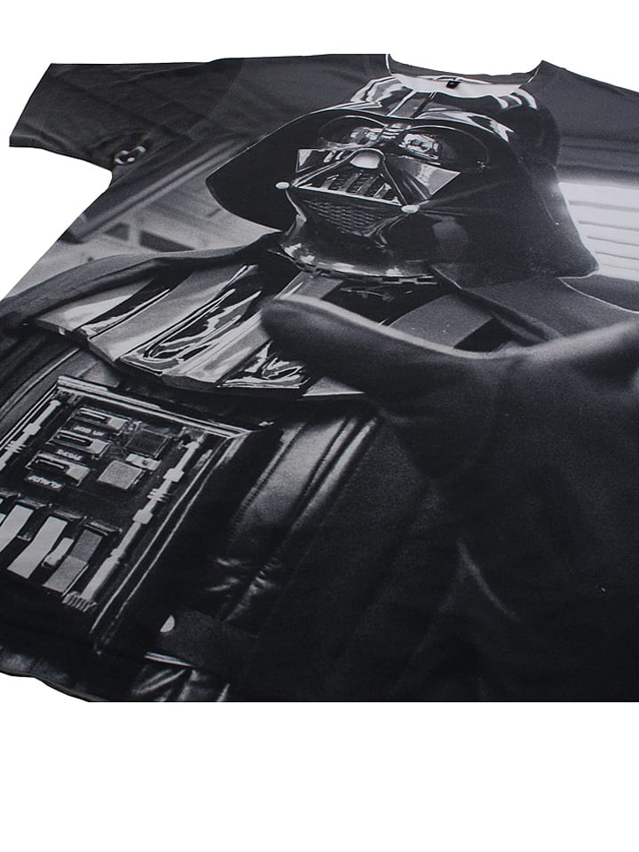 "Star Wars Shirt ""Force Choke"" in Schwarz/ Grau"