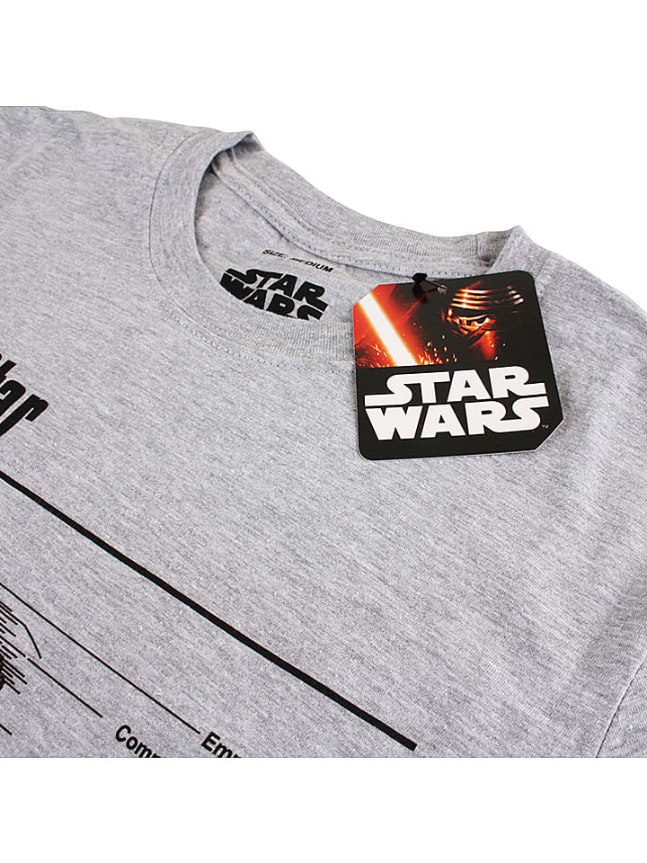 "Star Wars Shirt ""Death Stars"" in Grau"