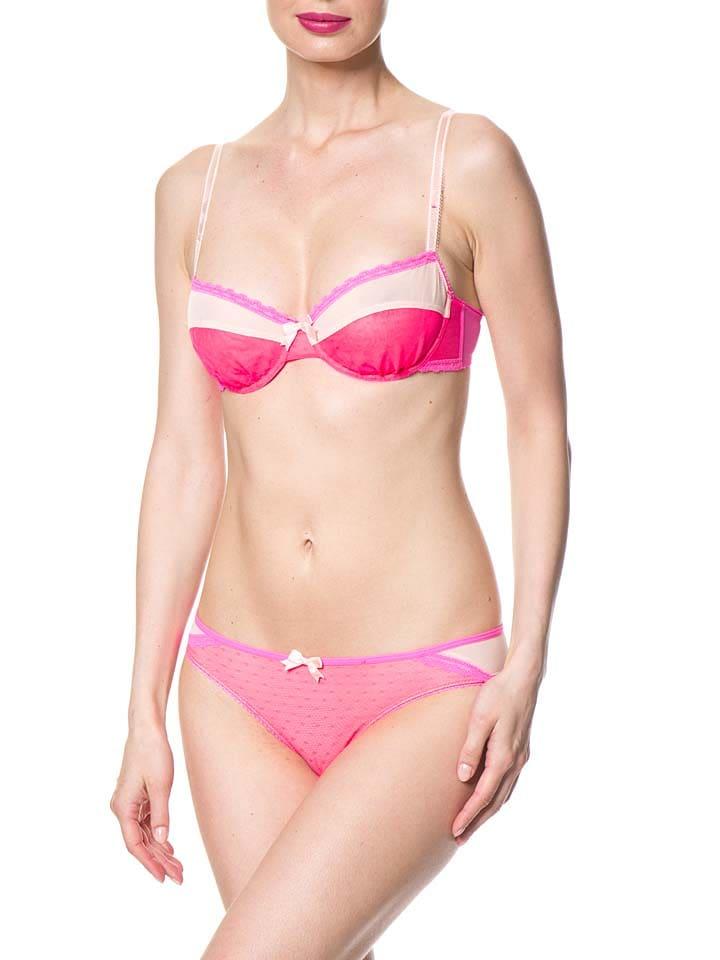 """Envie de lingerie... Bügel-BH """"Valentine"""" in Pink/ Beige"""