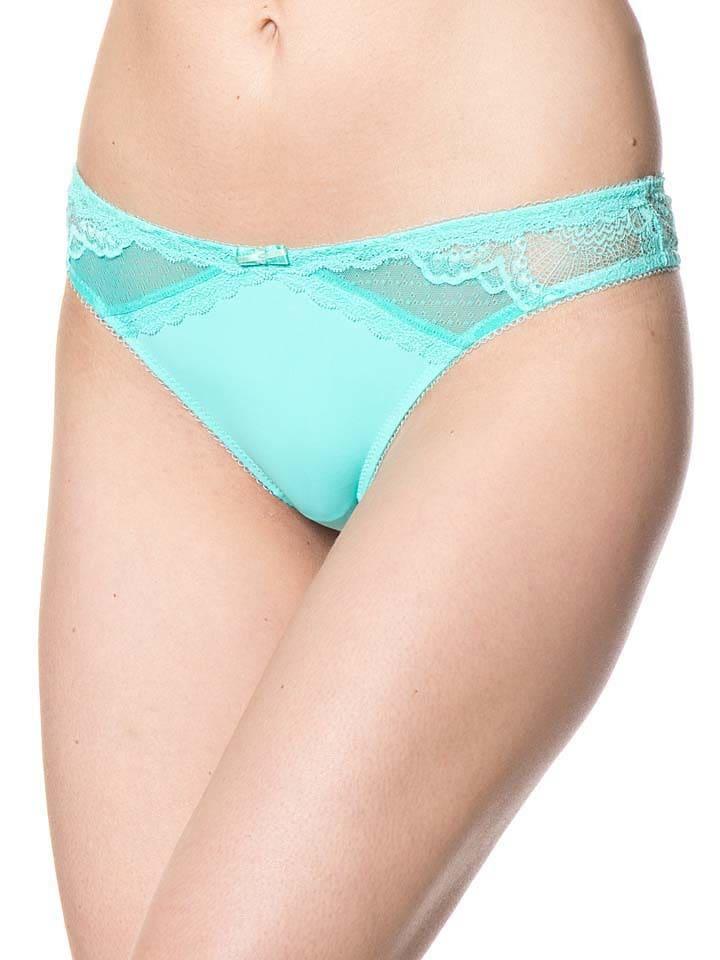 "Envie de lingerie... String ""Cachaca"" in Mint"