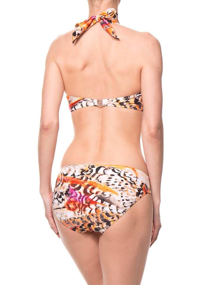 SUSA Bikini in Weiß/ Orange