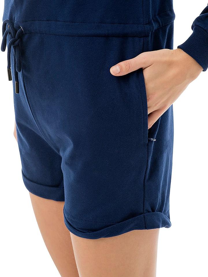"""ZipUps Jumpsuit """"Classic Short"""" in Dunkelblau"""