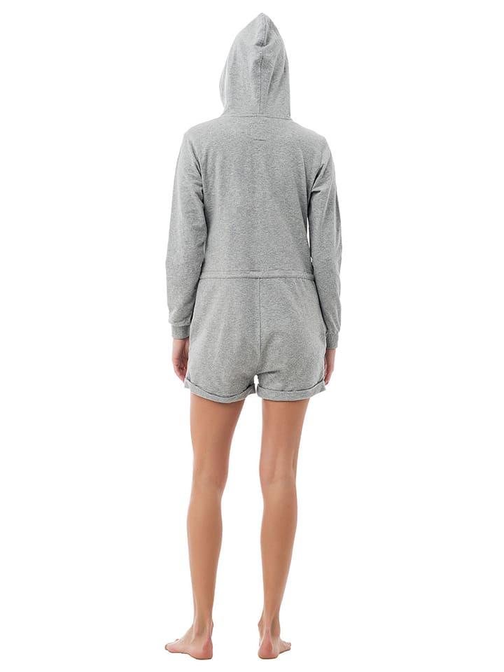 "ZipUps Jumpsuit ""Classic Short"" in Hellgrau"