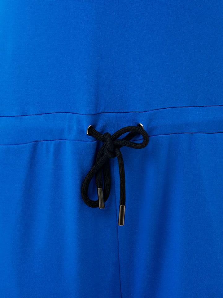 "ZipUps Jumpsuit ""Short Tank"" in Blau/ Schwarz"