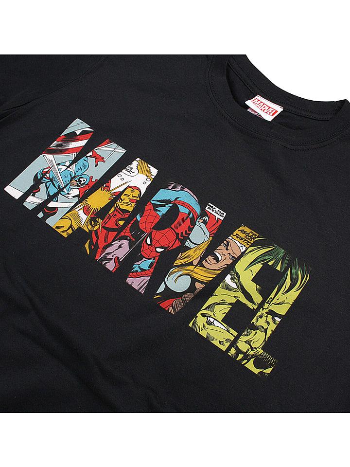 Marvel Shirt in Schwarz