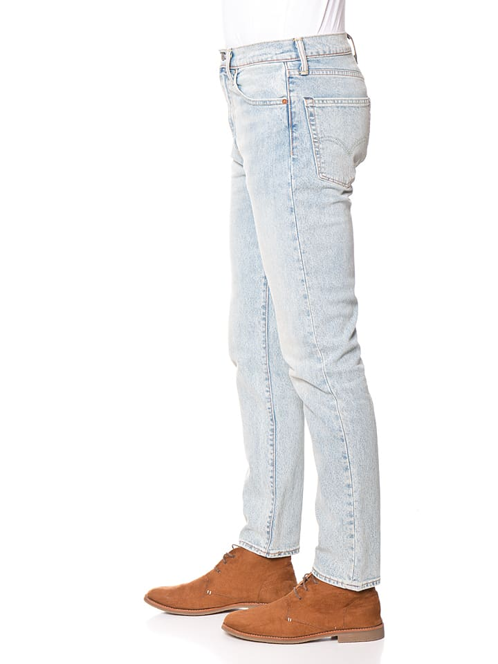 "Levi´s Jeans ""522"" - Slim fit - in Hellblau/ Creme"