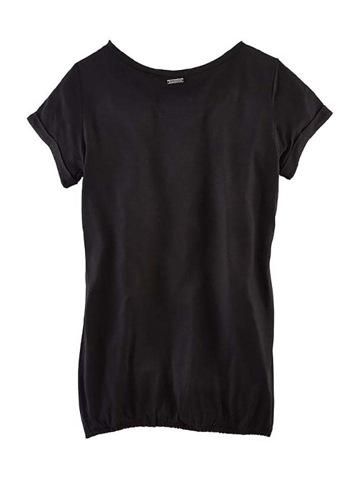 Roadsign Shirt in Schwarz/ Grau