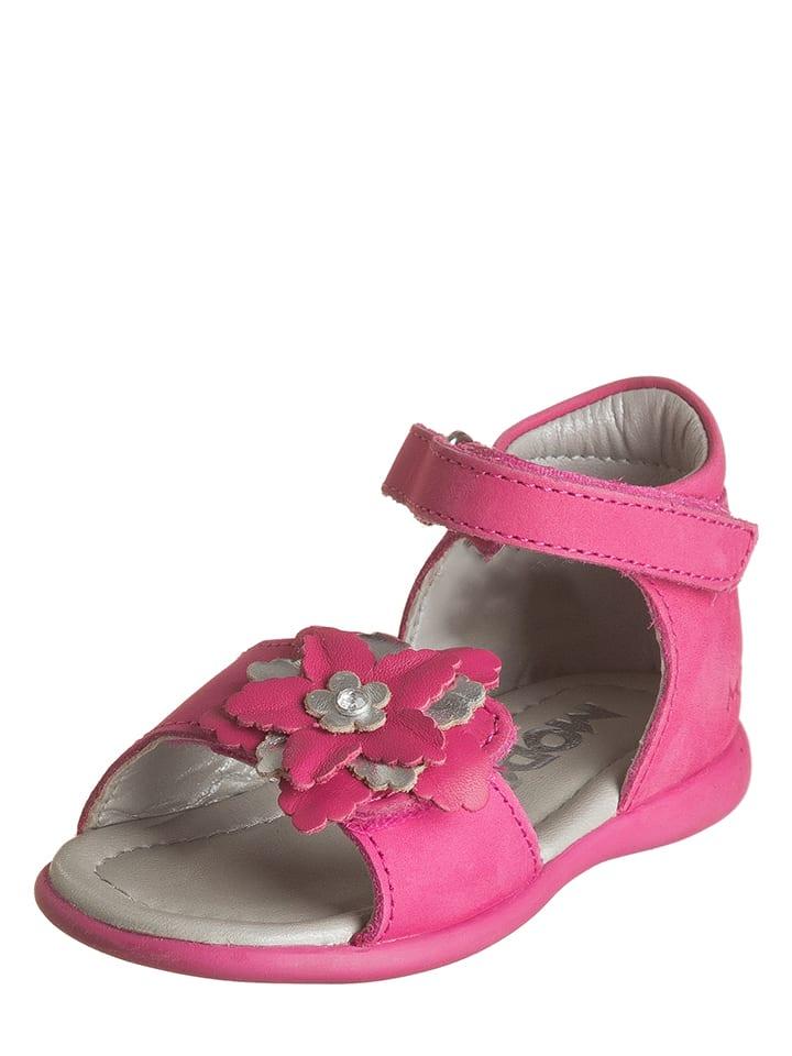 """Mod8 Leder-Sandalen """"Gwendoline"""" in Pink"""