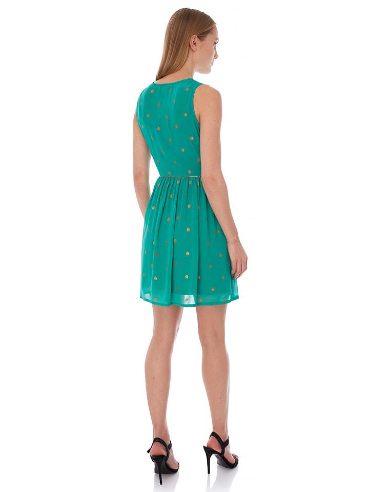 Yumi Kleid in Grün