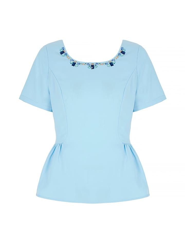 Yumi Shirt in Hellblau