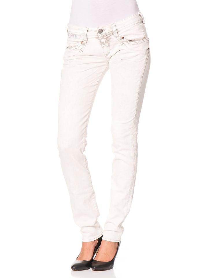 "Herrlicher Jeans ""Piper"" - Slim fit - in Creme"