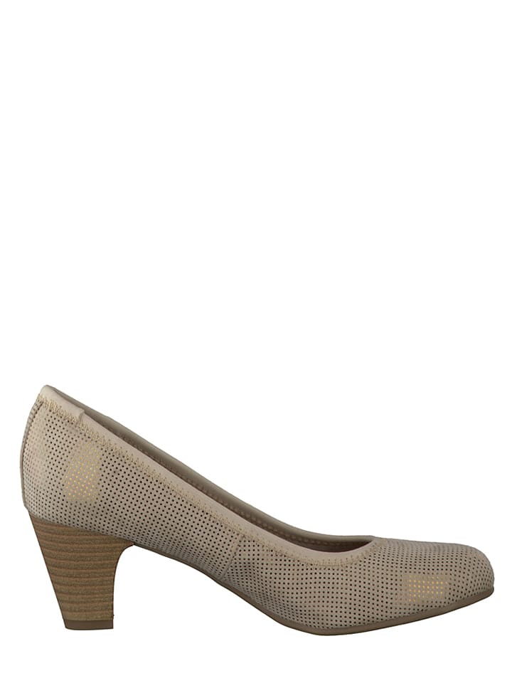 S. Oliver Pumps in Beige