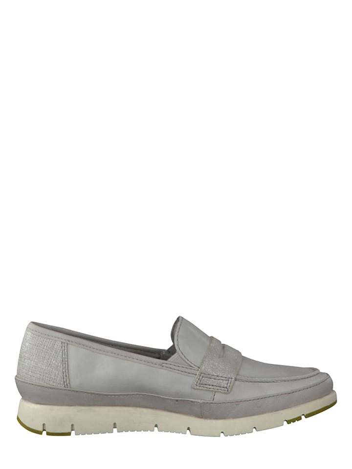Marco Tozzi Slipper in Grau