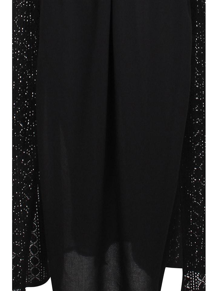 Usha Kleid in Schwarz