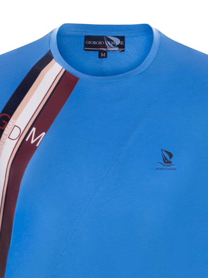 GIORGIO DI MARE Shirt in Blau