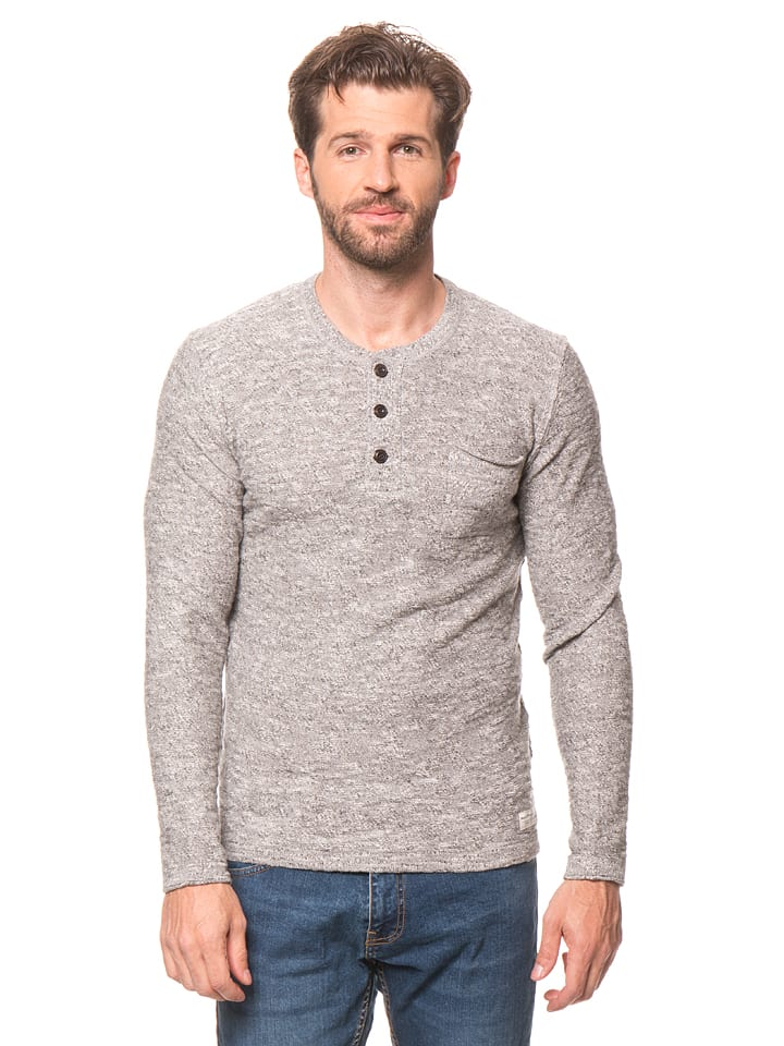 Marc O'Polo Longsleeve in Grau