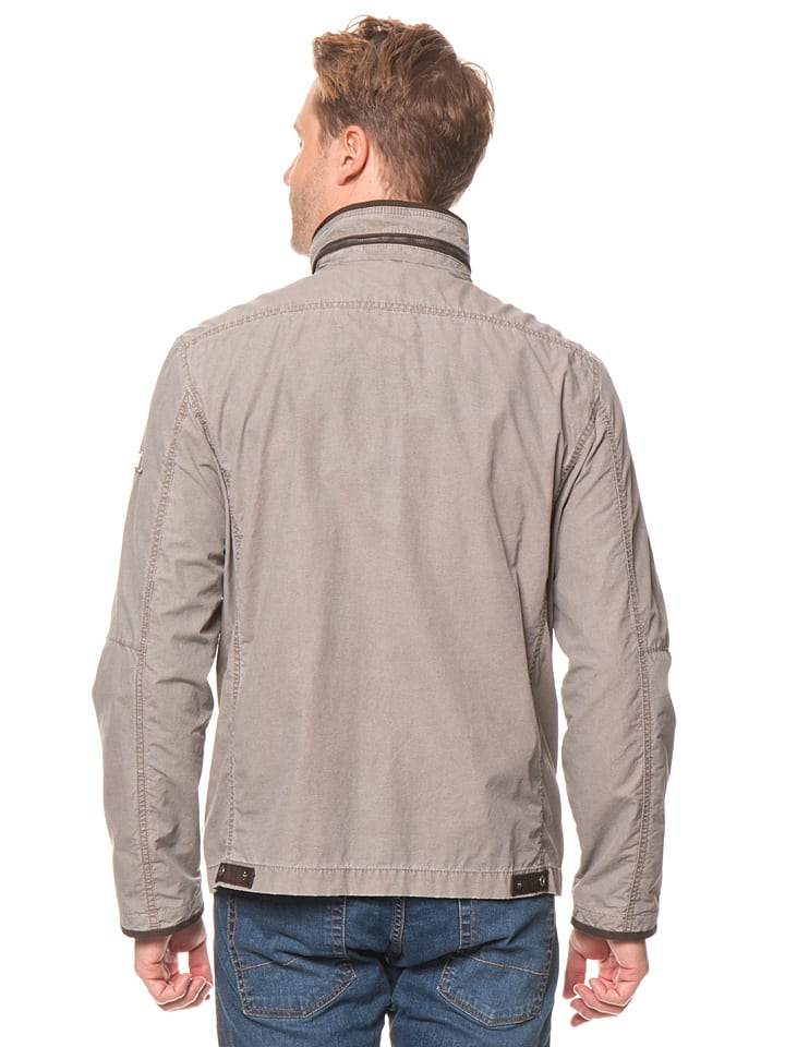 """JUPITER Funktionsjacke """"New Cotton"""" in Taupe"""