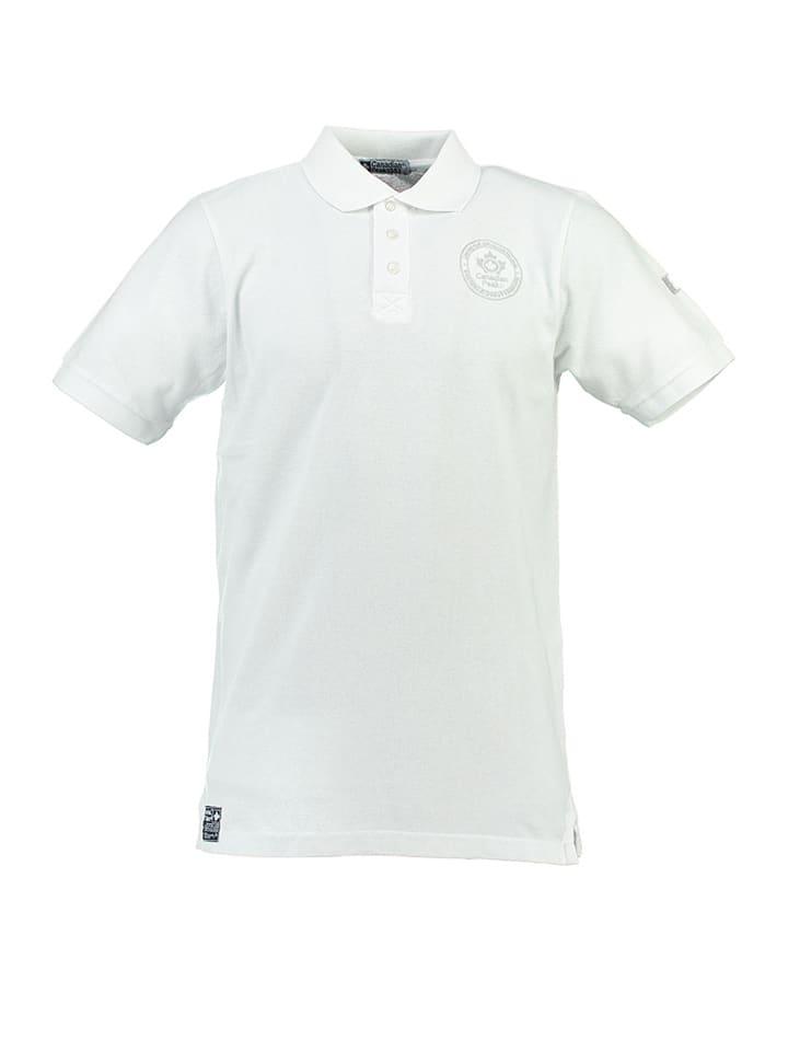 Canadian Peak Poloshirt Kanada in Weiß