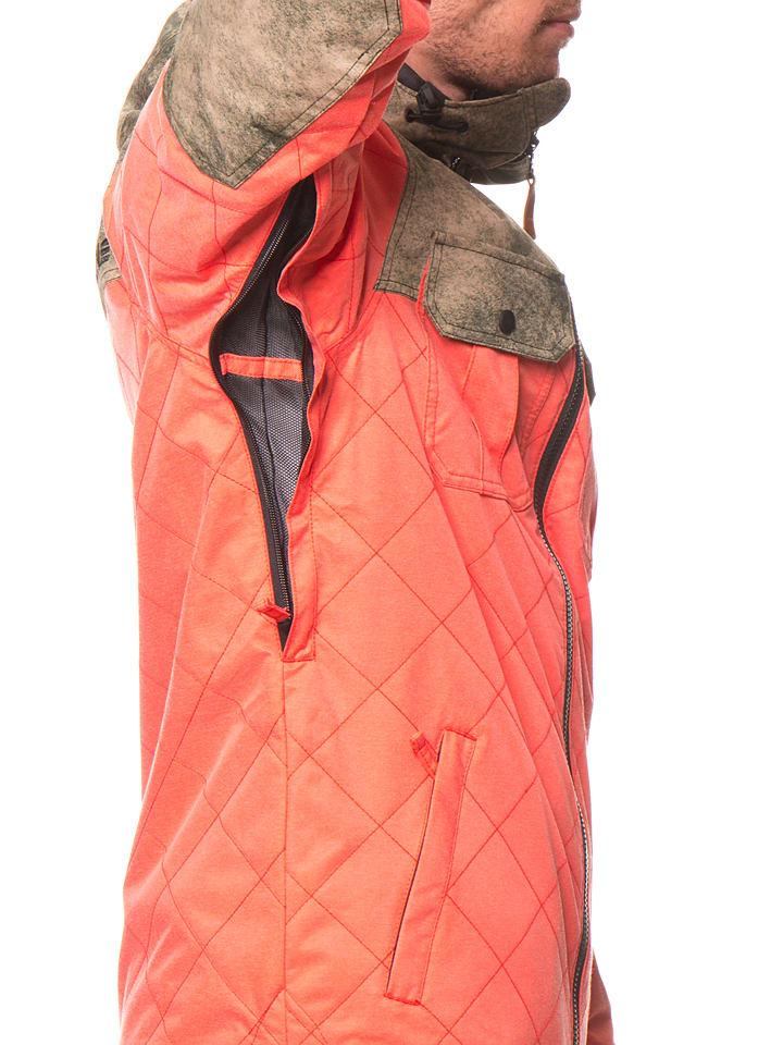 """Oakley Ski-/ Snowboardjacke """"Cedar Ridge"""" in Koralle/ Beige"""