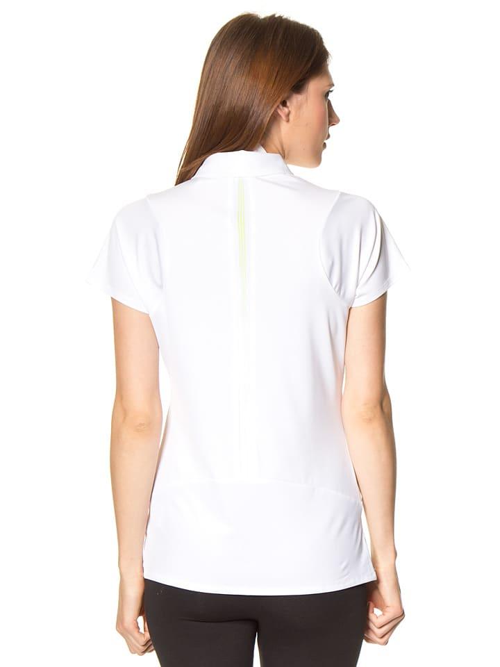 Adidas Golfshirt in Weiß