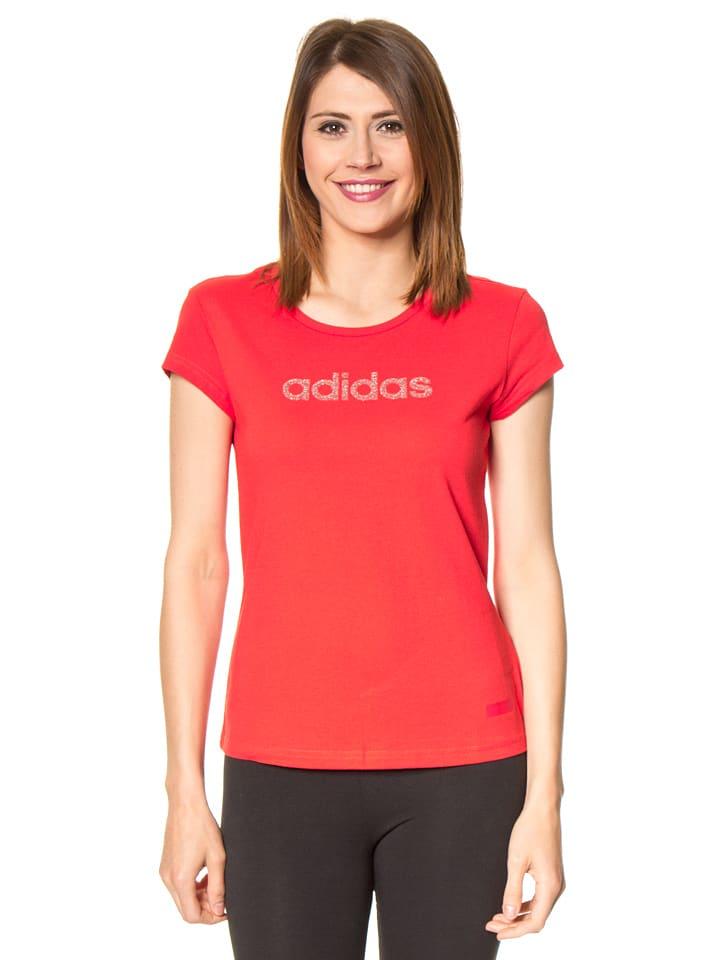 Adidas Shirt in Koralle