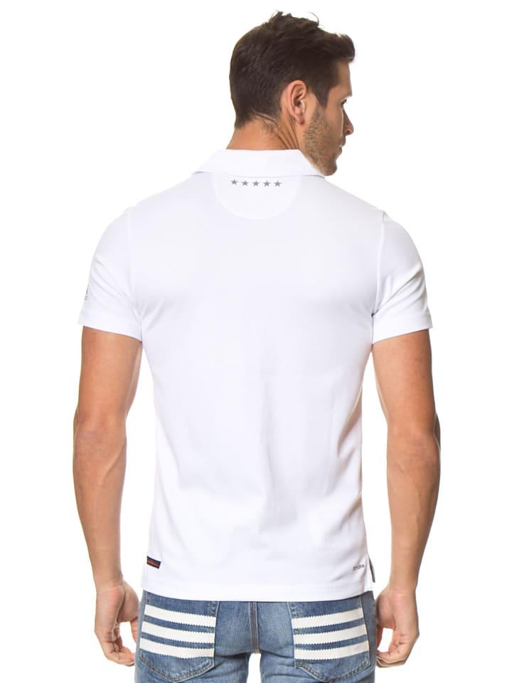 Adidas Funktionsshirt in Weiß
