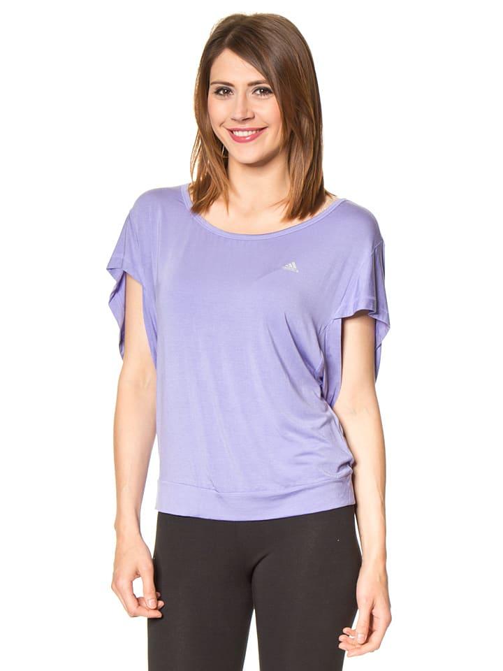 Adidas Yogashirt in Lila