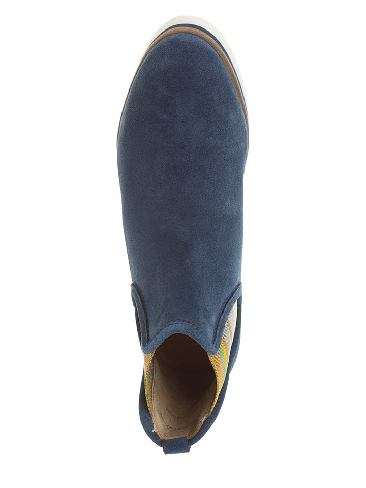 Marc O'Polo Shoes Chelsea-Boots in Blau