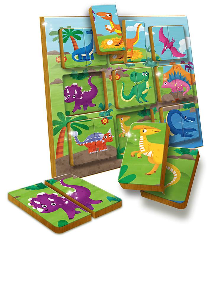 """Piatnik Steckspiel """"Dinosaurier"""" - ab 12 Monaten"""