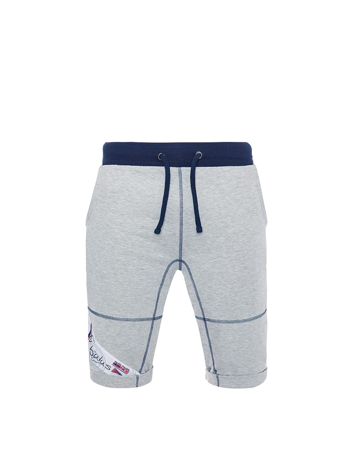 "Nebulus Sweatshorts ""Station"" in Grau"