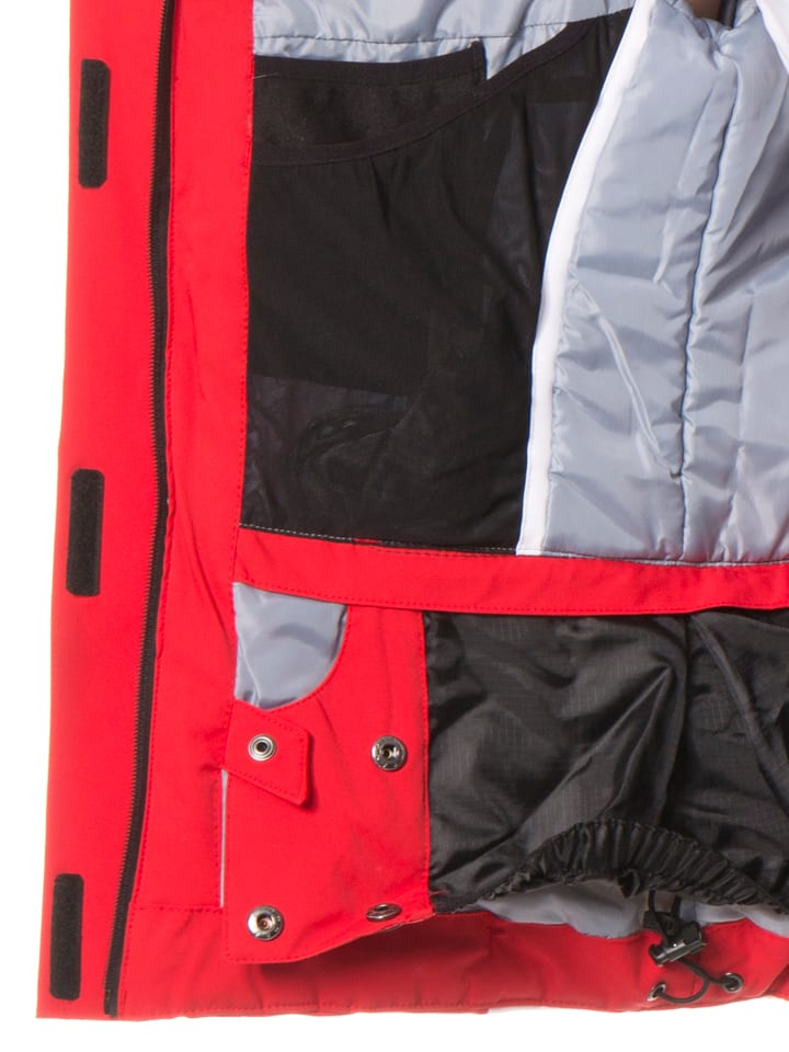 CMP Ski-/ Snowboardjacke in Rot/Weiß