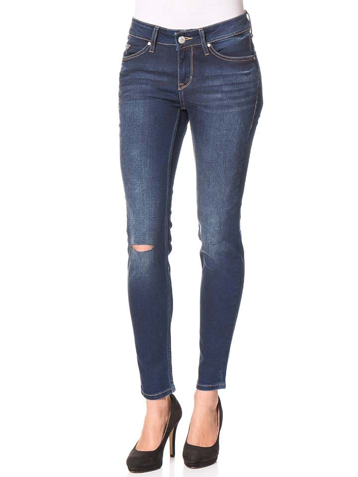 """Mustang Jeans """"Gina"""" - Slim fit - in Dunkelblau"""