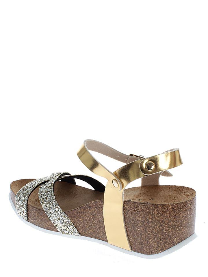 Sunbay Sandaletten in Gold