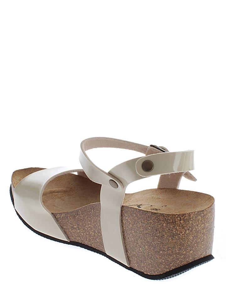 Sunbay Sandaletten in Creme