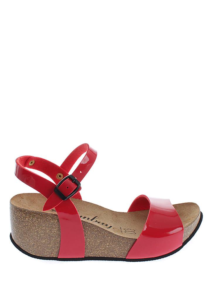 Sunbay Sandaletten in Rot
