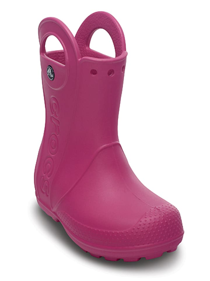 "Crocs Gummistiefeletten ""Handle It"" in Fuchsia"