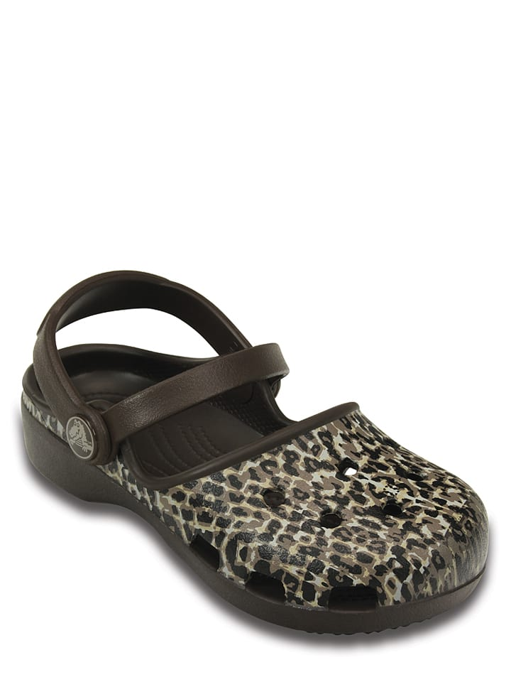 "Crocs Clogs ""Karin"" in Braun/ Beige"