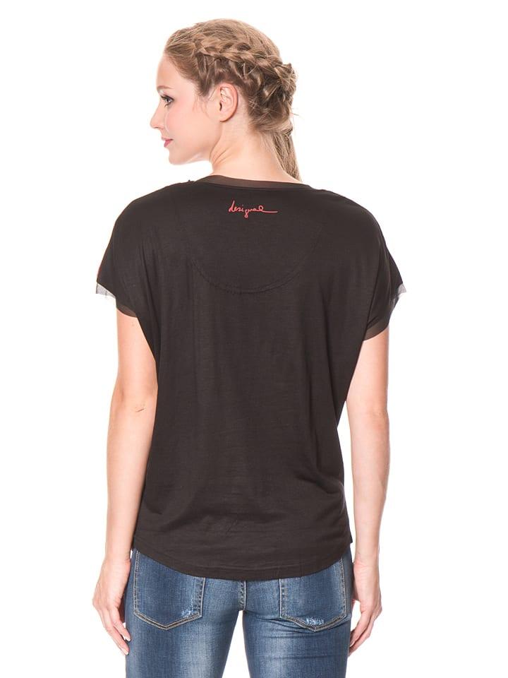 "Desigual Shirt ""Neptuno"" in Schwarz/ Bunt"