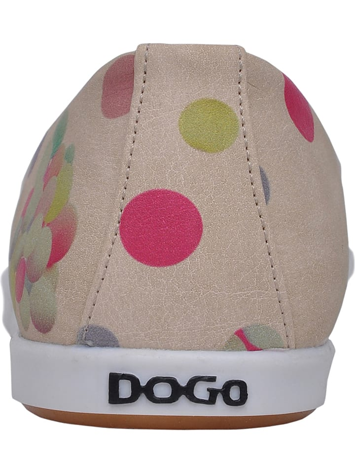 "Dogo Slipper ""Take Me To Neverland"" in Beige/ Bunt"