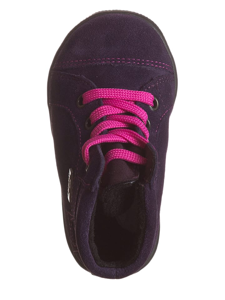 Richter Shoes Leder-Sneakers in Lila
