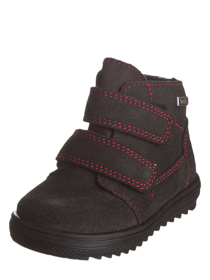 Richter Shoes Leren sneakers zwart