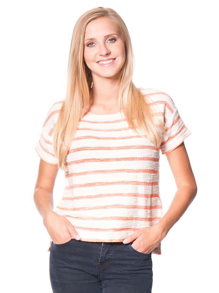 "Roxy Shirt ""Adelaide"" in Orange/ Creme"